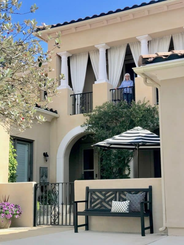 California Spanish Colonial exterior Curb Appeal