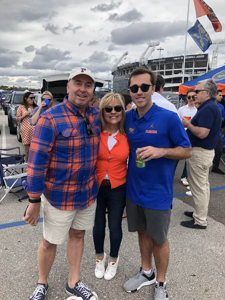 Gator Tailgating party