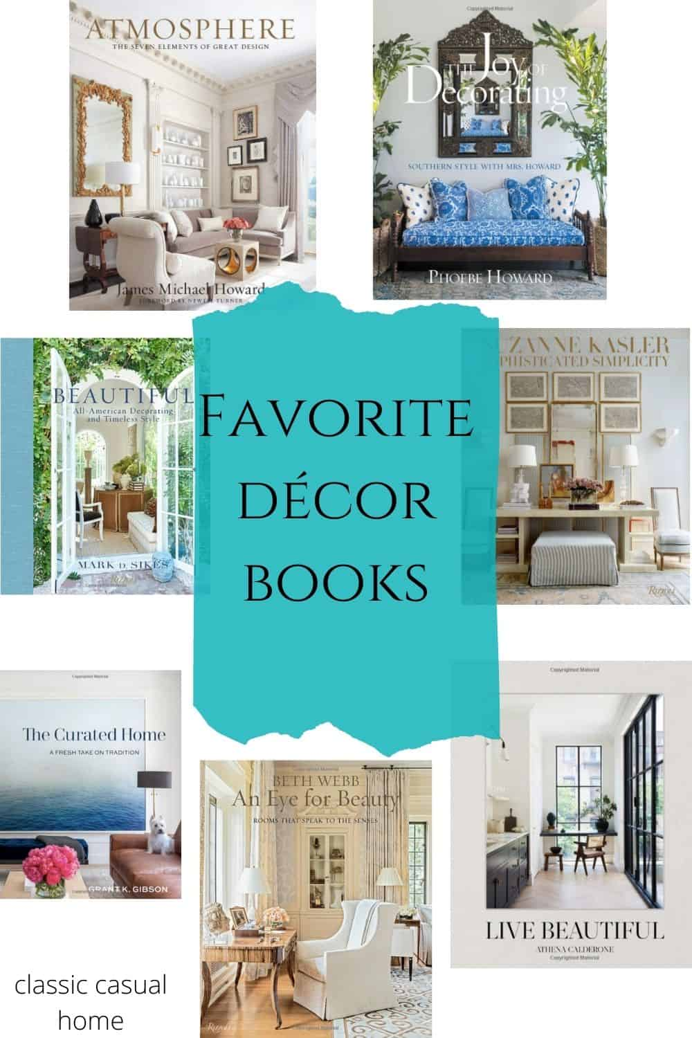 Mary Ann Pickett's Favorite Decor Books