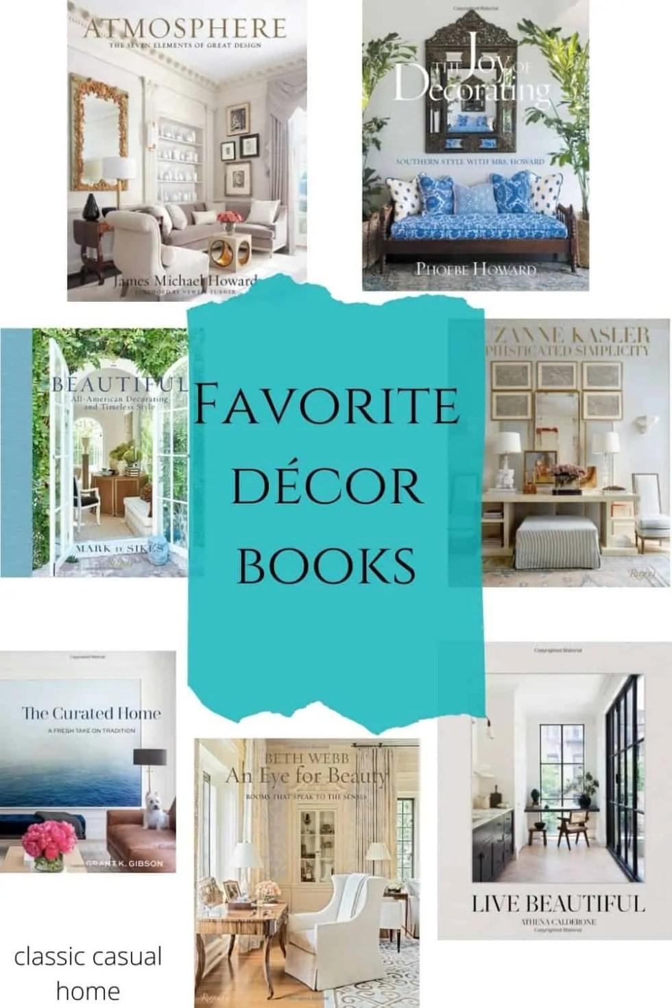 Mary Ann Pickett's Favorite Decor Books
