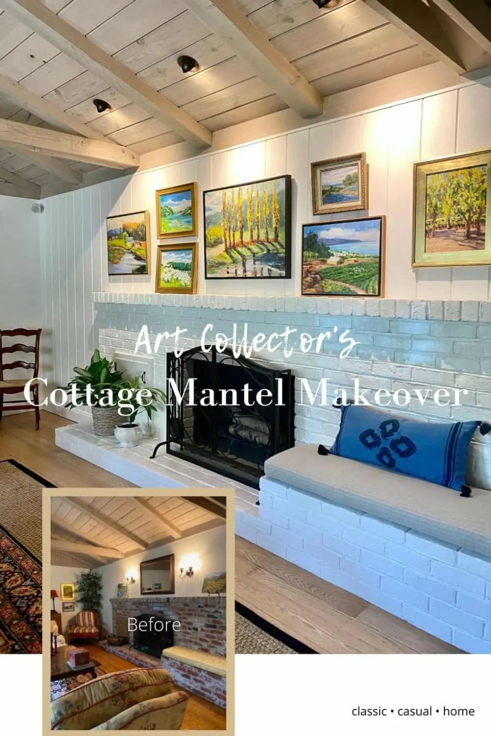 Mary Ann Pickett's Living Room Makeover