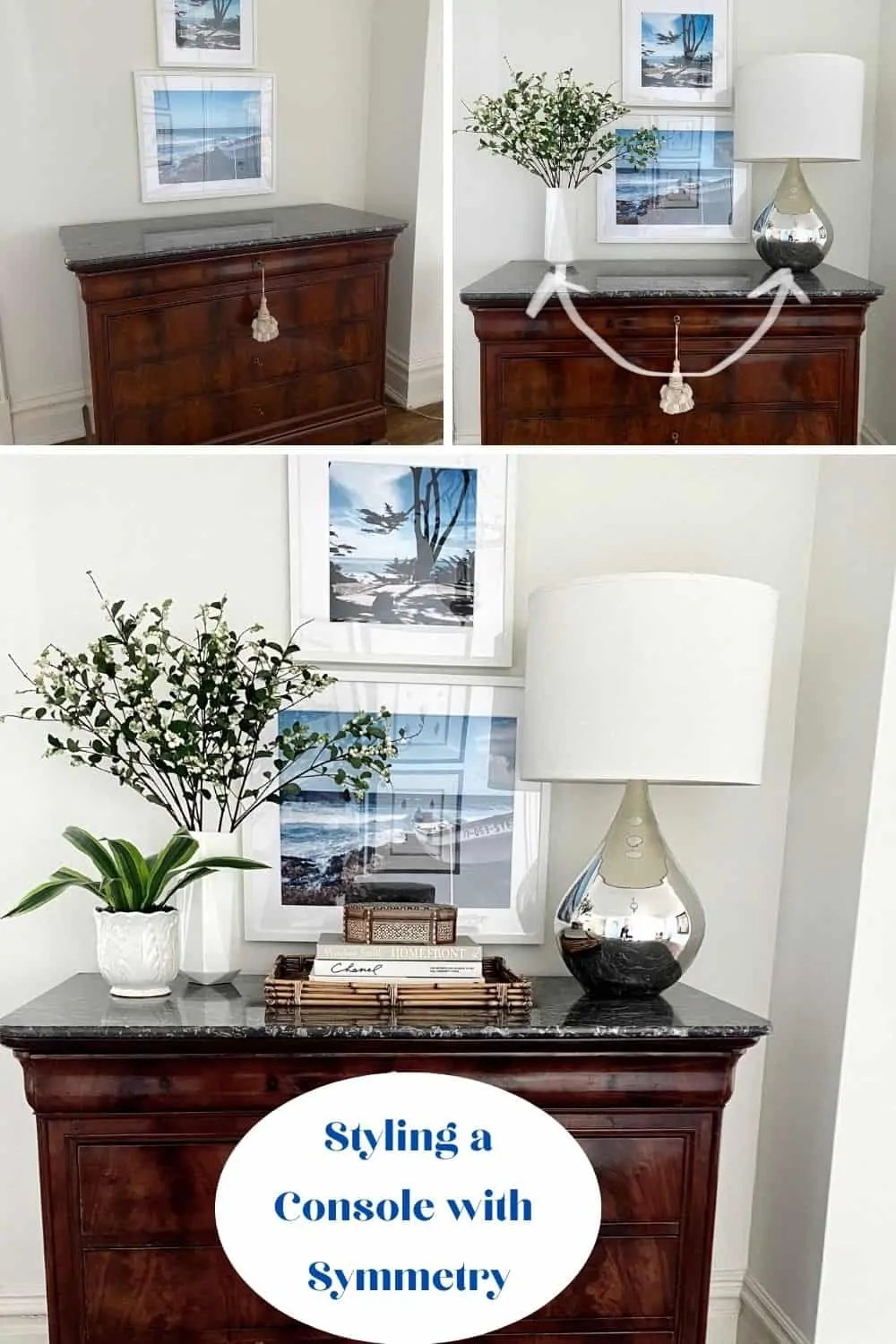 How to decorate an antique chest
