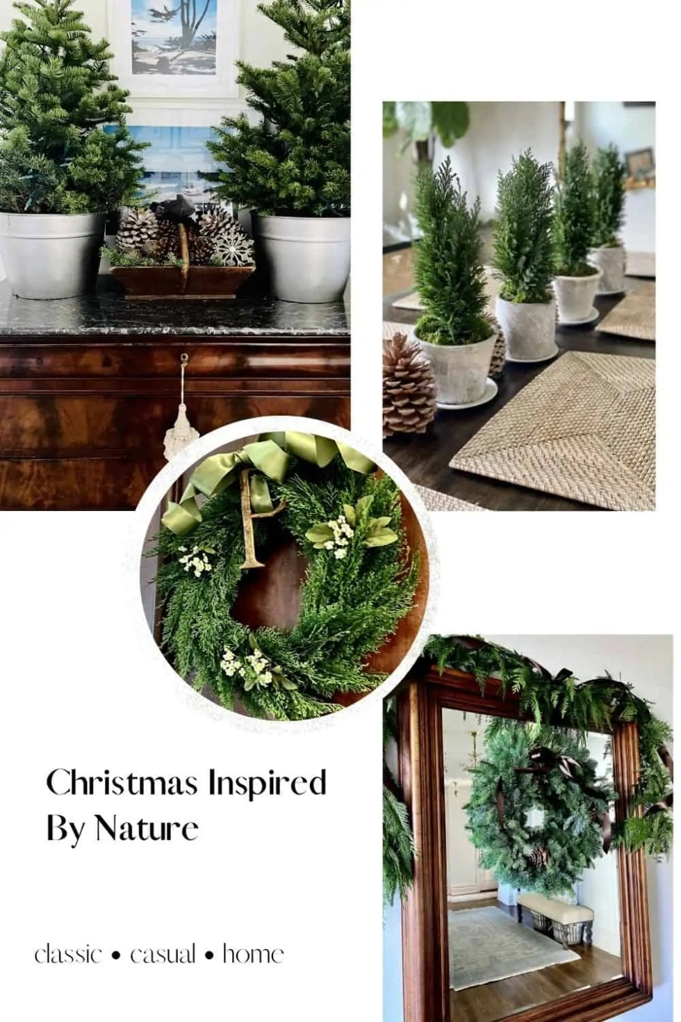 Mary Ann Pickett's Natural Christmas Decor