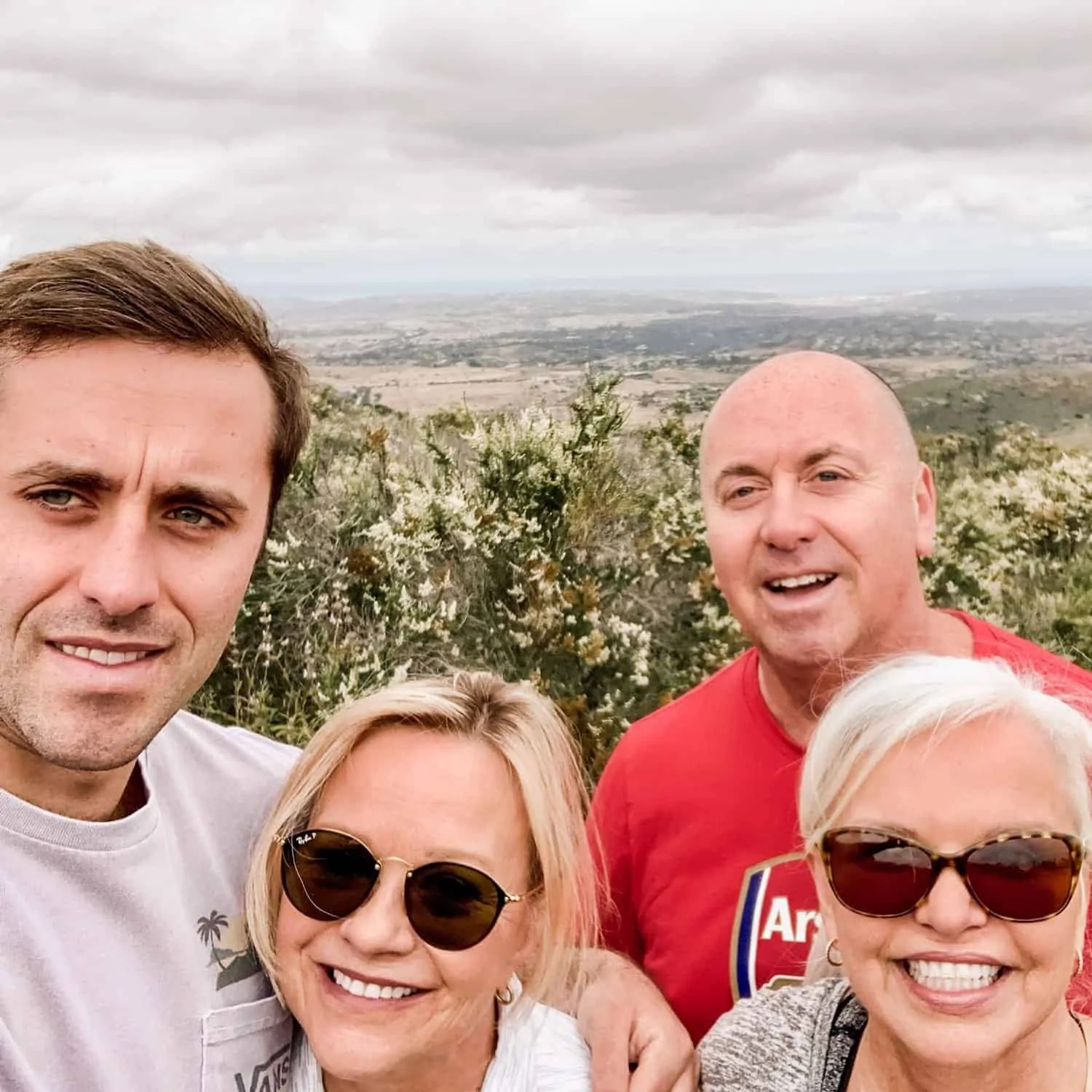 Pickett Family Hike in San Diego