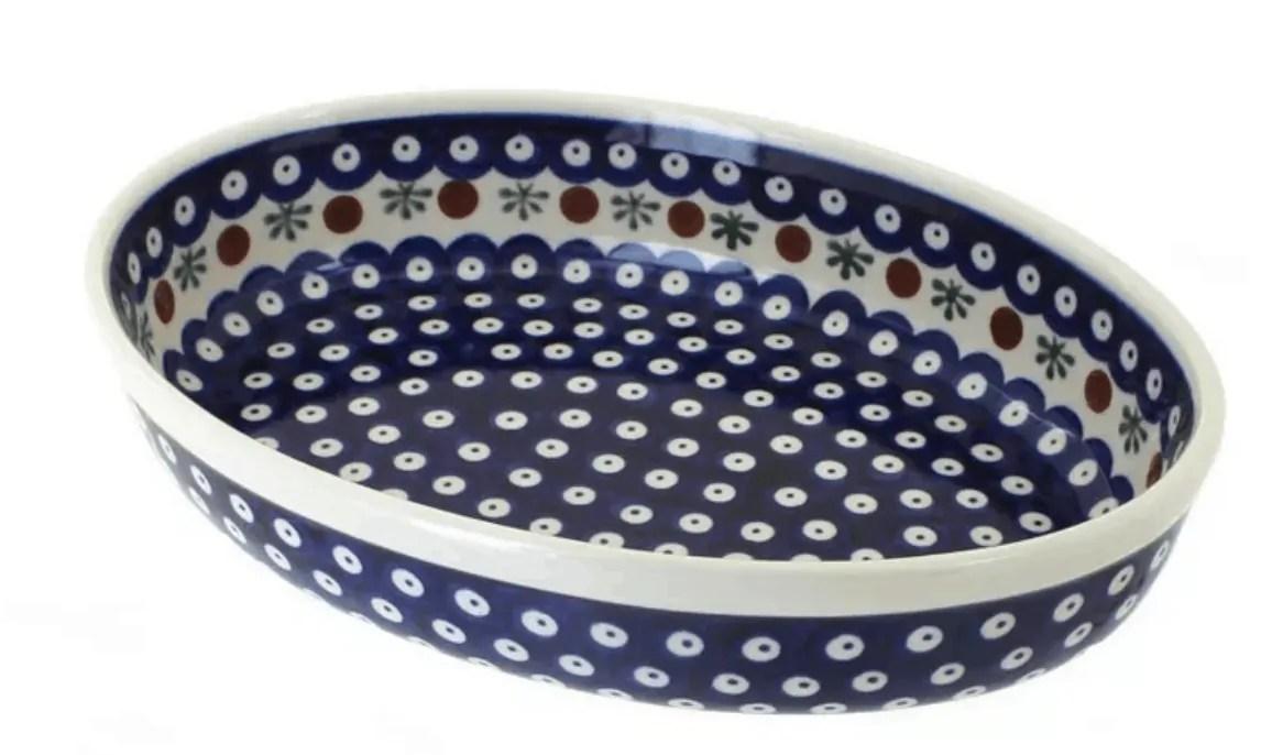 Blue Polish Baking Dish