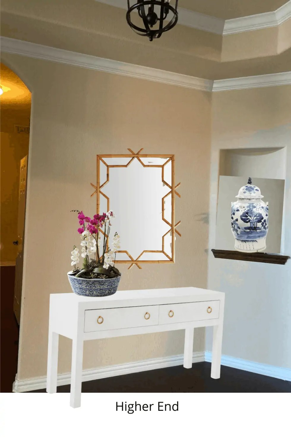 Serena and Lily Foyer Console