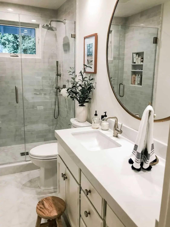 Mary Ann Pickett Styles a Small Bathroom