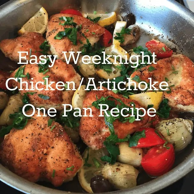 Easy One Pan Cincken Dinner