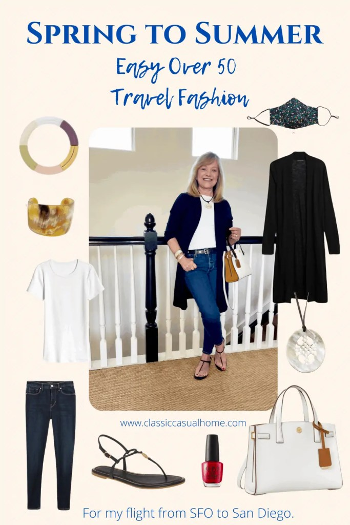 Mary Ann Pickett Travel Outfit