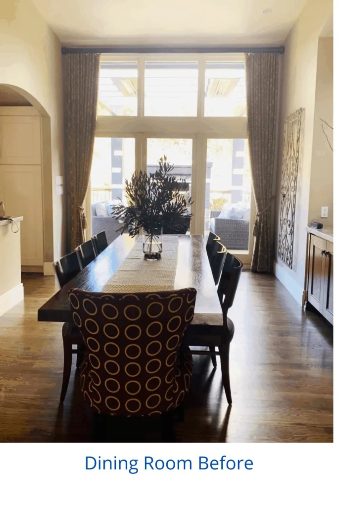 Dated Dining Room