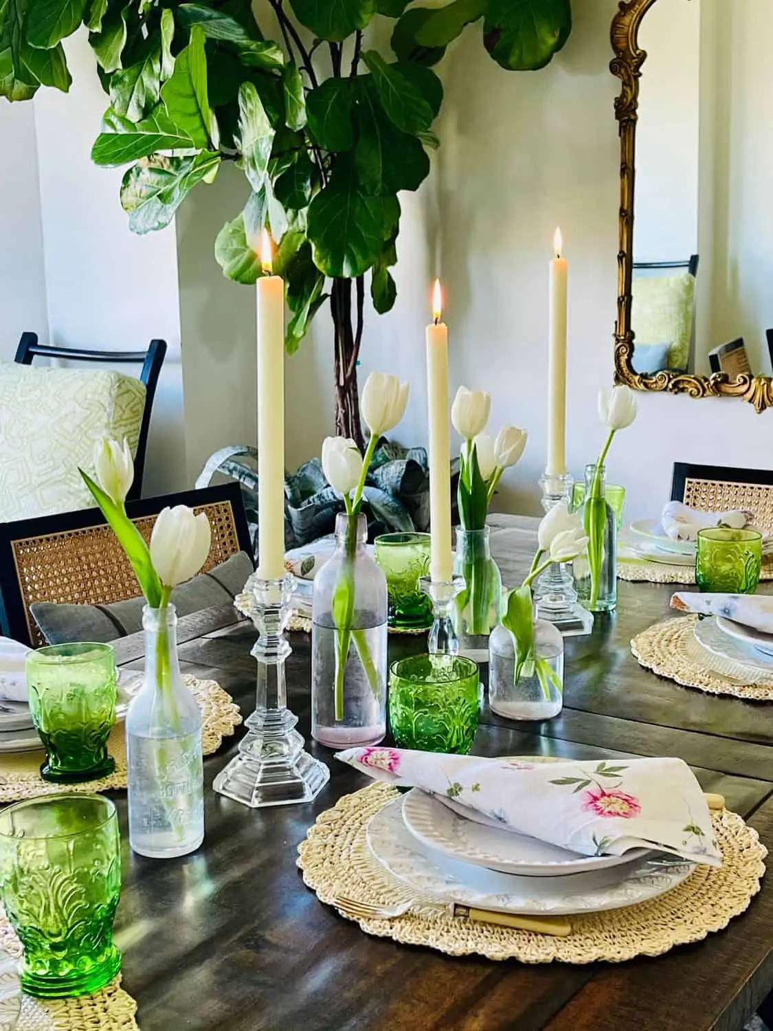 Mary Ann Pickett's Spring Table