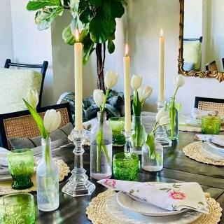 Mary Ann Pickett's Spring Table