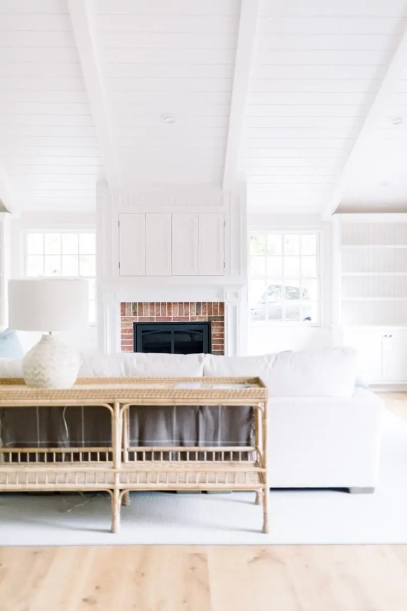 Snowberry Great Room After with White Trimwork