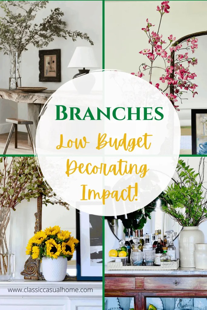 Mary Ann Pickett's Tips on Using Branches in Decor