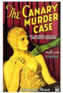 1929 the canary murder case