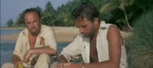 Sea Wife 1957 Richard Burton and Basil Sydney