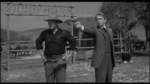 Man Who Shot Liberty Valance 1962 John Wayne Jimmy Stewart