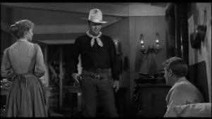 Man Who Shot Liberty Valance 1962 John Wayne Jimmy Stewart and Vera Miles