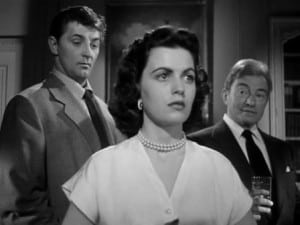 Where Danger Lives 1950 Faith Domergue, Robert Mitchum and Claude Rains