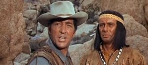 Texas Across the River 1966 Dean Martin and Joey Bishop