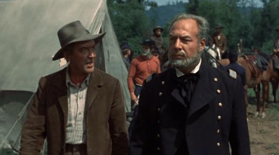 George Kennedy alongside James Stewart in Shenandoah (1965)