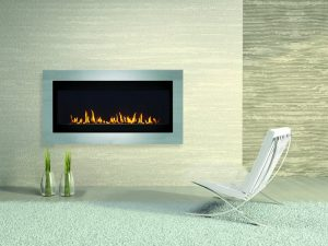 Brigantia Linear Gas Fireplace