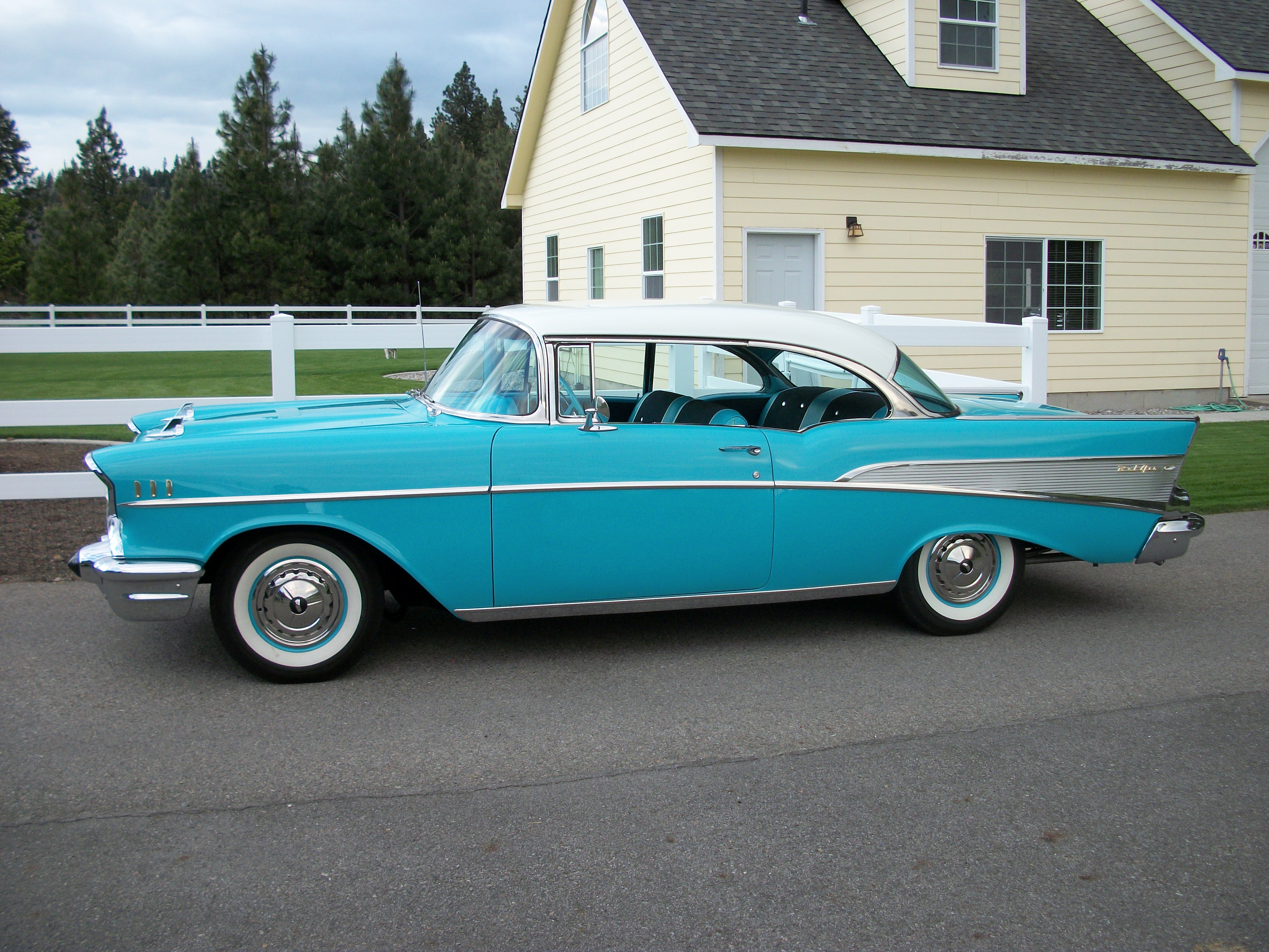1957 Chevrolet Bel Air 2 Door Hardtop     Classic Garage 1957 Chevrolet Bel Air 2 Door Hardtop