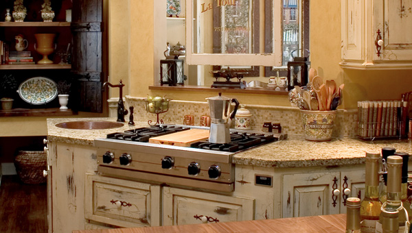 The Perfect Granite Counter for Your Farmhouse Kitchen ... on Farmhouse Countertops  id=33665