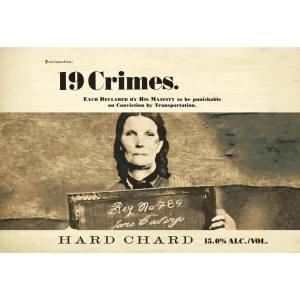19 Crimes 2018 Hard Chard - Chardonnay White Wine