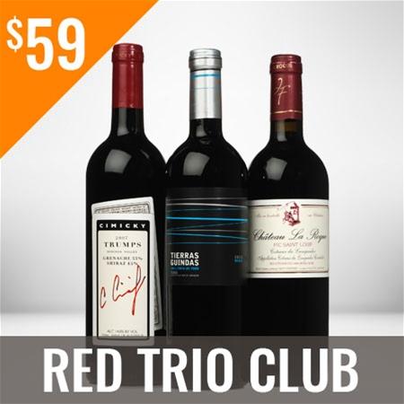 Red Trio Wine Club Monthly Membership