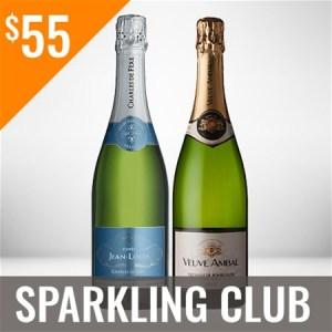 Sparkling Wine Club Twelve Shipment Membership