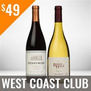 West Coast Wine Club Six Shipment Membership