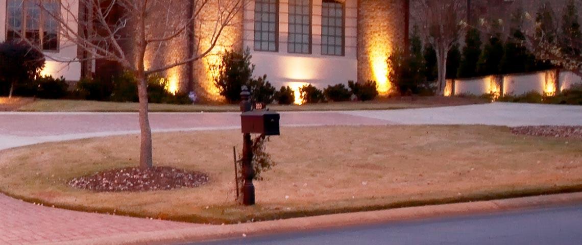 atlanta commercial landscape lighting