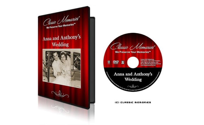 Classic Memories Gold Slideshow Package