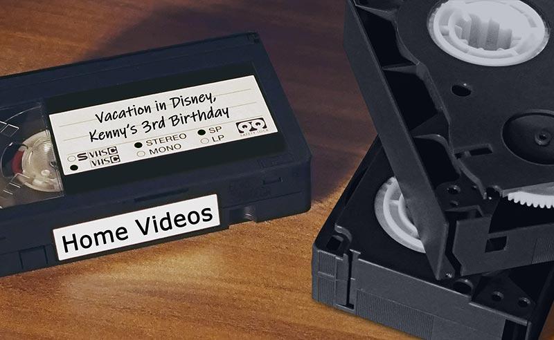 Classic Memories Video Tapes