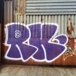 RK, Bushwick, Brooklyn Graffiti