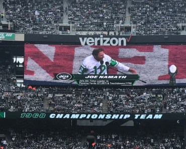 New York Jets 50th Anniversary Super Bowl III Championship