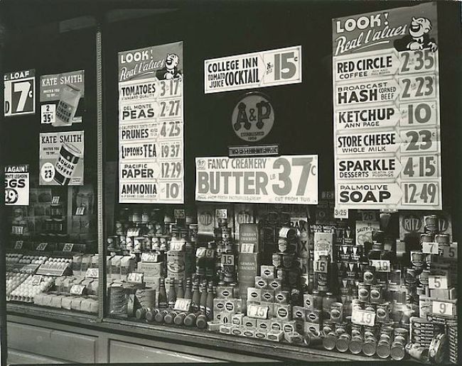 A&P Grocery Store History
