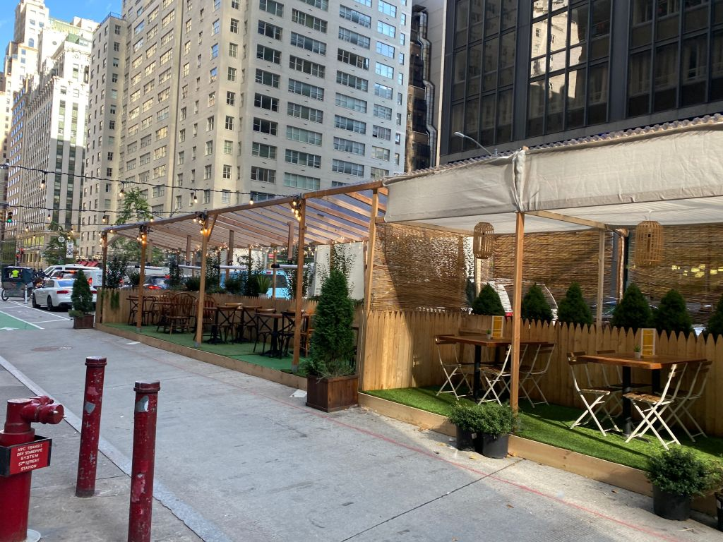 Outdoor Dining New York City Pandemic Pictures