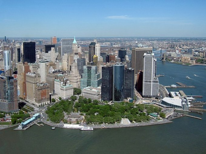 History Of New York's Battery Park
