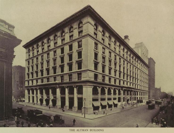 History of B. Altman's Department Stores