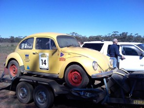 car 14 going straight from lunch to Ivanhoe