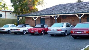 Mercedes Benzes at the Bushman's in Parkes.