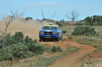 Cuthbert/Runnalls pushing very hard
