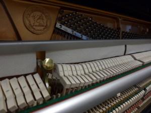 Klavier Ritter - Mechanik