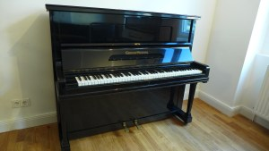 Klavier Grotrian Schwarz