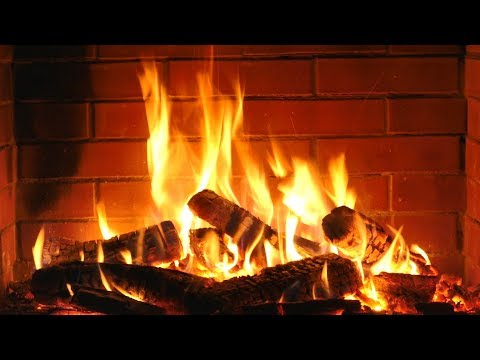 Fireplace HD with Christmas Music – Non Stop