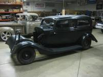 The early restoration stages of this 1934 Ford.