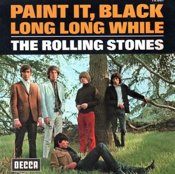 Afbeeldingsresultaat voor Rolling stones paint it black