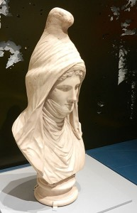 Bust of a Persian woman, Villa Montalto, Rome